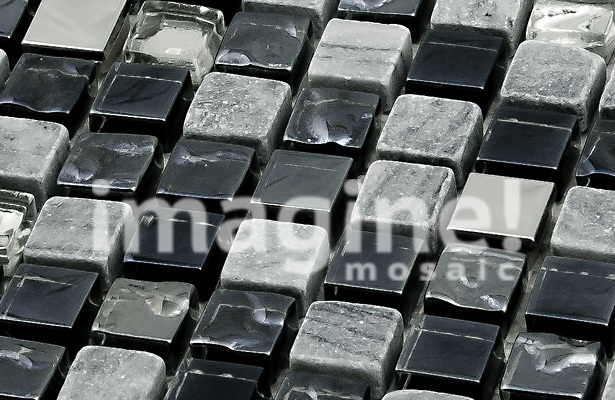 Мозаика из керамики морские камешки