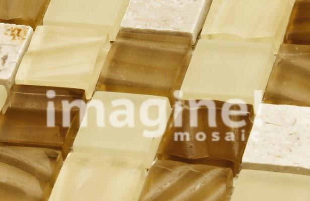 Недорогая плитка мозаика на пол в ванную, которую легко наклеить самостоятельно