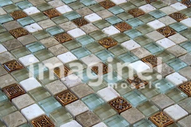 Изысканная мозаичная плитка: цена в г. Барнаул – лучшая для дизайнеров интерьеров