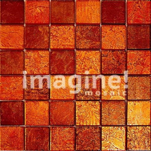 Плитка мозаика красного цвета