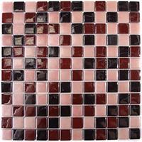 Китайская мозаика на сетке для кухни