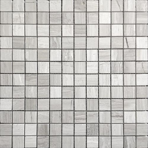 Мозаика из стекломассы белая