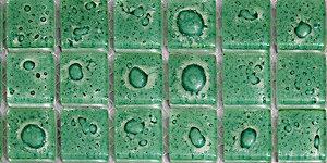 Мозаика плитка зеленая